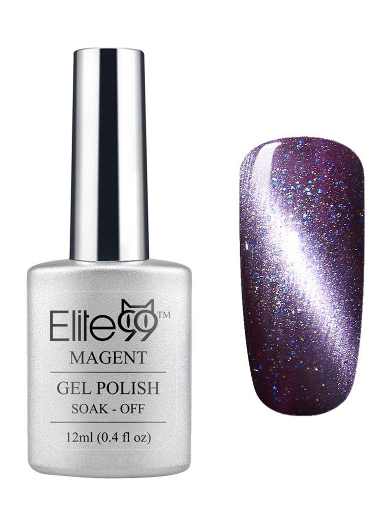 3D Soak Off UV LED Purple Series Magnetic Cat Eye Elite99 Gel Nail Polish elite99 3d magnetic cat eye gel polish soak off nail art