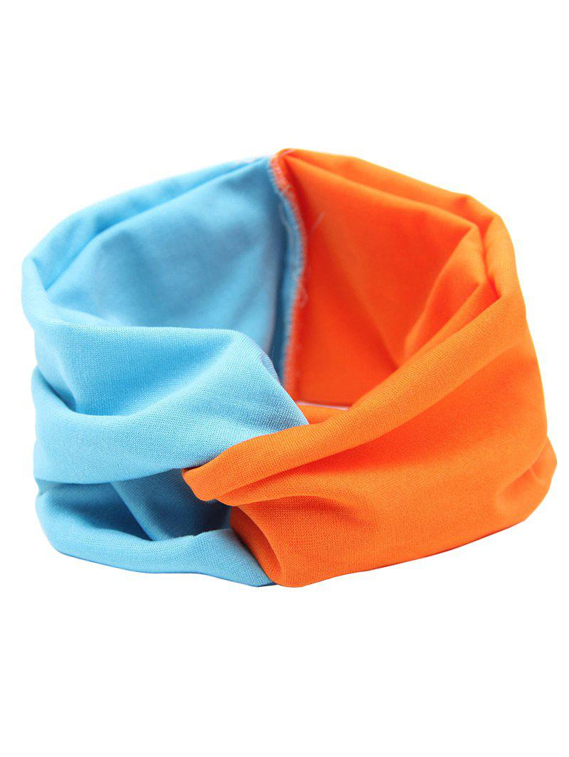 Multiuse Elastic Hair Band - BLUE/ORANGE