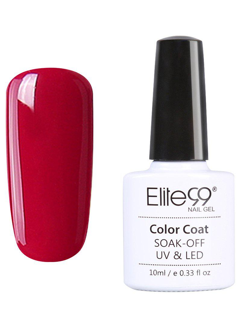 10 ml Elite99 UV LED Vernis à Ongle Gel Faire Tremper Série Rouge -