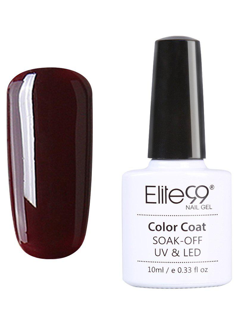 10ml Elite99 Soak Off Red Series Gel Polish UV LED Nail Art lulaa 36w uv lamp of resurrection nail gel tools and portable package five 10 ml soaked uv glue gel nail polish