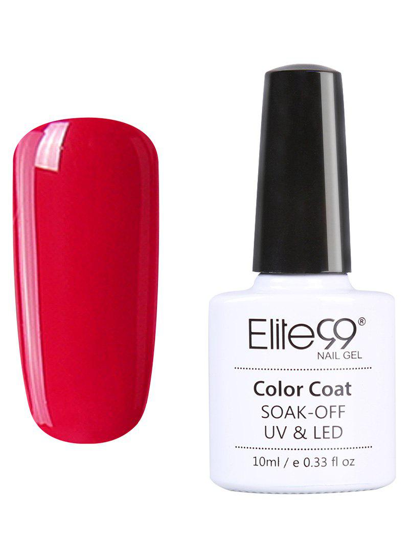 10ml Elite99 Soak Off Red Series Gel Polish UV LED Nail Art -