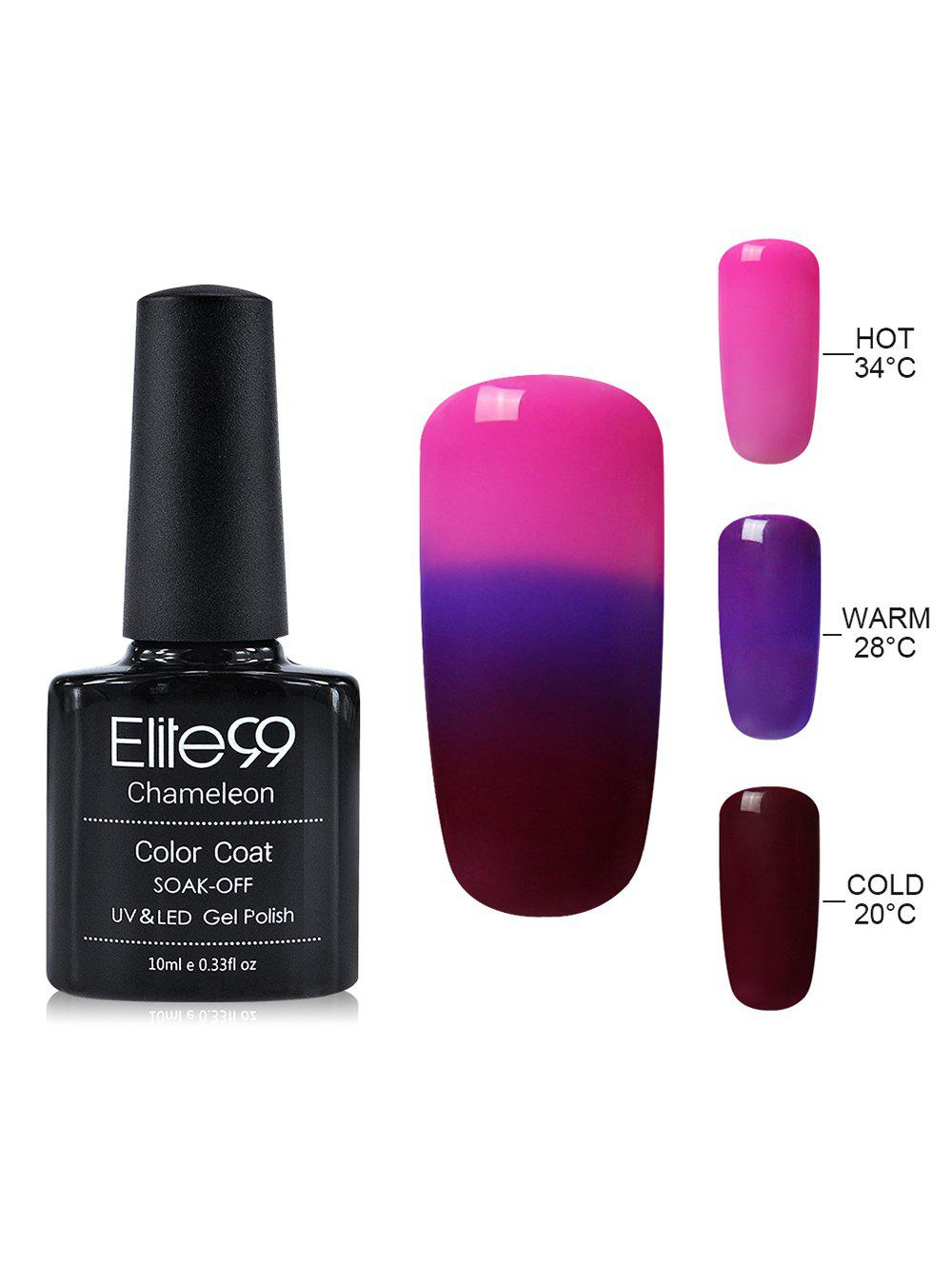 10ML Elite99 Chameleon Temperature Color Changing Gel Vernis à ongles -