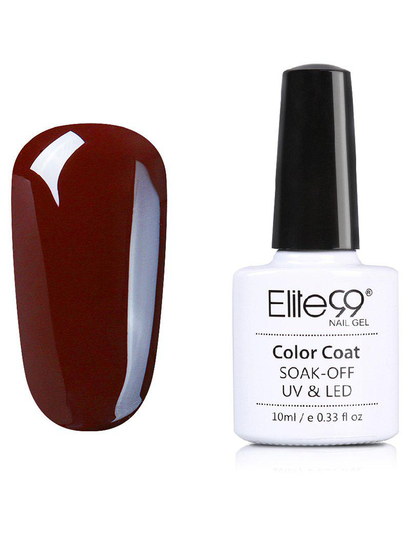 Soak Off UV LED Elite99 Coffee Brown Series Gel Nail Polish cnhids in 36w uv lamp 7 of resurrection nail tools and gortable package five 10 ml soaked uv glue gel nail polish