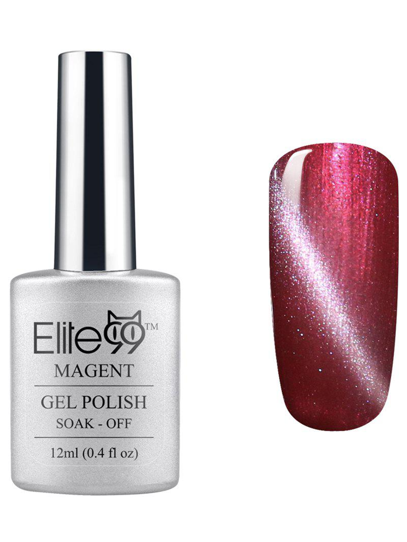 Elite99 UV LED Soak Off 3D Magnetic Cat Eye Red Series Gel Nail Polish - 04