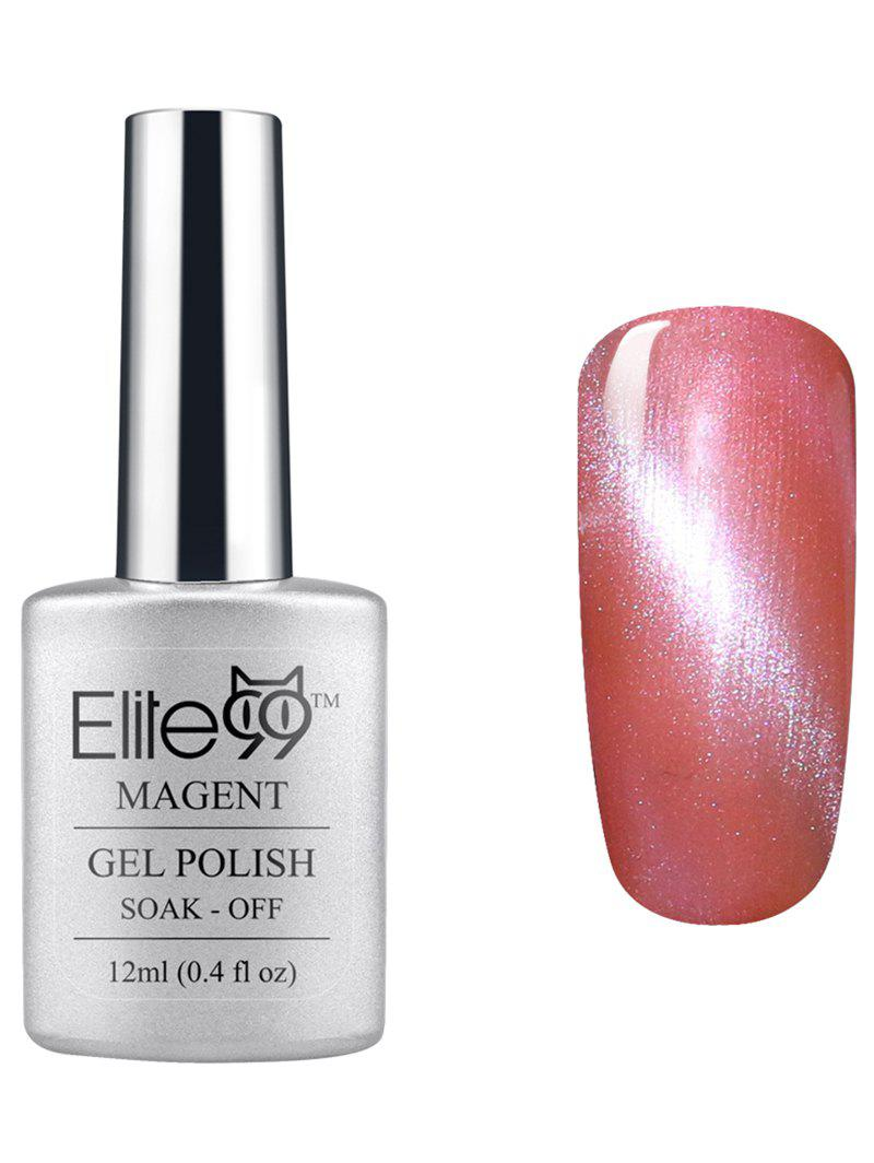 Elite99 UV LED Soak Off 3D Magnetic Cat Eye Red Series Gel Nail Polish -