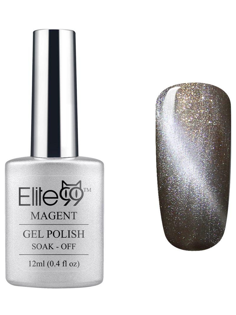Elite99 UV LED Soak Off 3D Magnetic Cat Eye Grey Series Gel Nail Polish elite99 3d magnetic cat eye gel polish soak off nail art