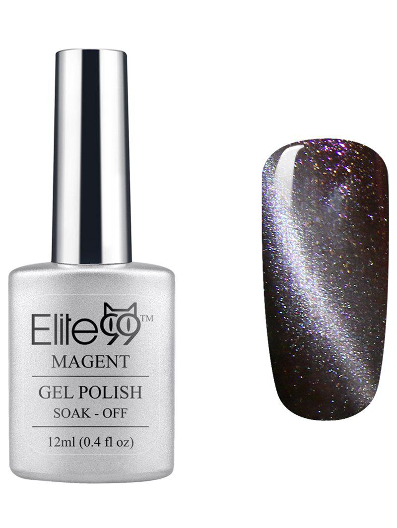 Elite99 UV LED Soak Off 3D Magnetic Cat Eye Grey Series Gel Nail Polish -