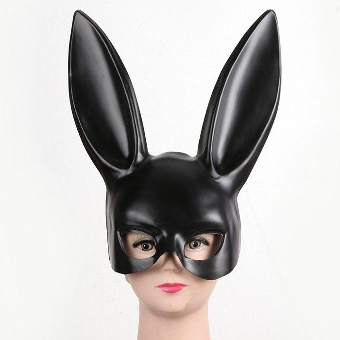 Halloween Party Rabbit Ears Mask - BLACK