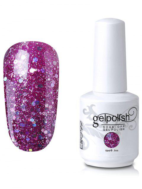 Elite99 Gel Polish Soak Off UV LED Full Sequins Nail Art Lacquer - 05