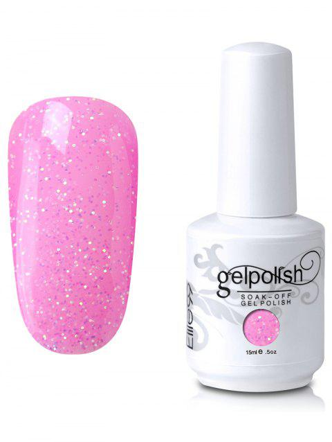 Elite 99 Vernis à Ongle Gel UV LED à Faire Tremper Motif Minuscules Paillettes - 13
