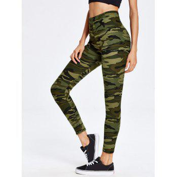 High Waist Camo Sport Leggings