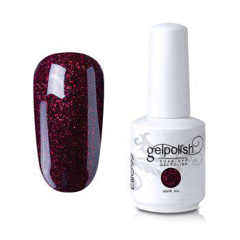 15ml Elite99 Soak Off UV LED Multi-color Gel Polish Nail Art Glitter Clear - #06