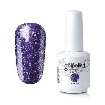 Elite99 Gel Polish Soak Off UV LED Full Sequins Nail Art Lacquer - #16