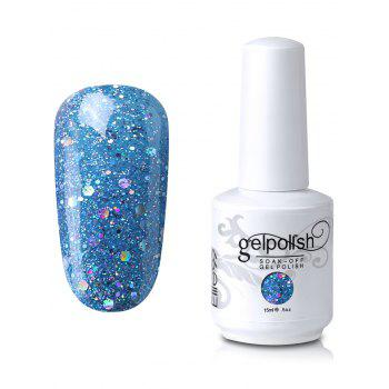Elite99 Gel Polish Soak Off UV LED Full Sequins Nail Art Lacquer - #19