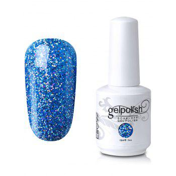 Elite99 Soak-off UV LED Glitter Powder Gel Nail Polish - #12