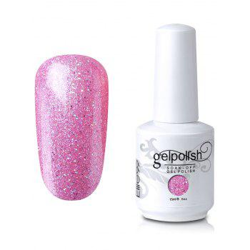 15ml Elite99 Soak-Off UV LED Gel Polish Nail Art Glitter Clear - #04