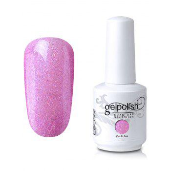 15ml Elite99 Soak-Off UV LED Gel Polish Nail Art Glitter Clear - #08