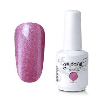 15ml Elite99 Soak-Off UV LED Gel Polish Nail Art Glitter Clear - #09