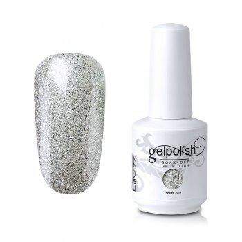 Elite99 Soak-off UV LED Shiny Glitter Powder Gel Nail Polish - #02