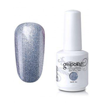 Elite99 Soak-off UV LED Shiny Glitter Powder Gel Nail Polish - #01