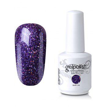 Elite99 Soak-off UV LED Glitter Powder Gel Nail Polish - #14
