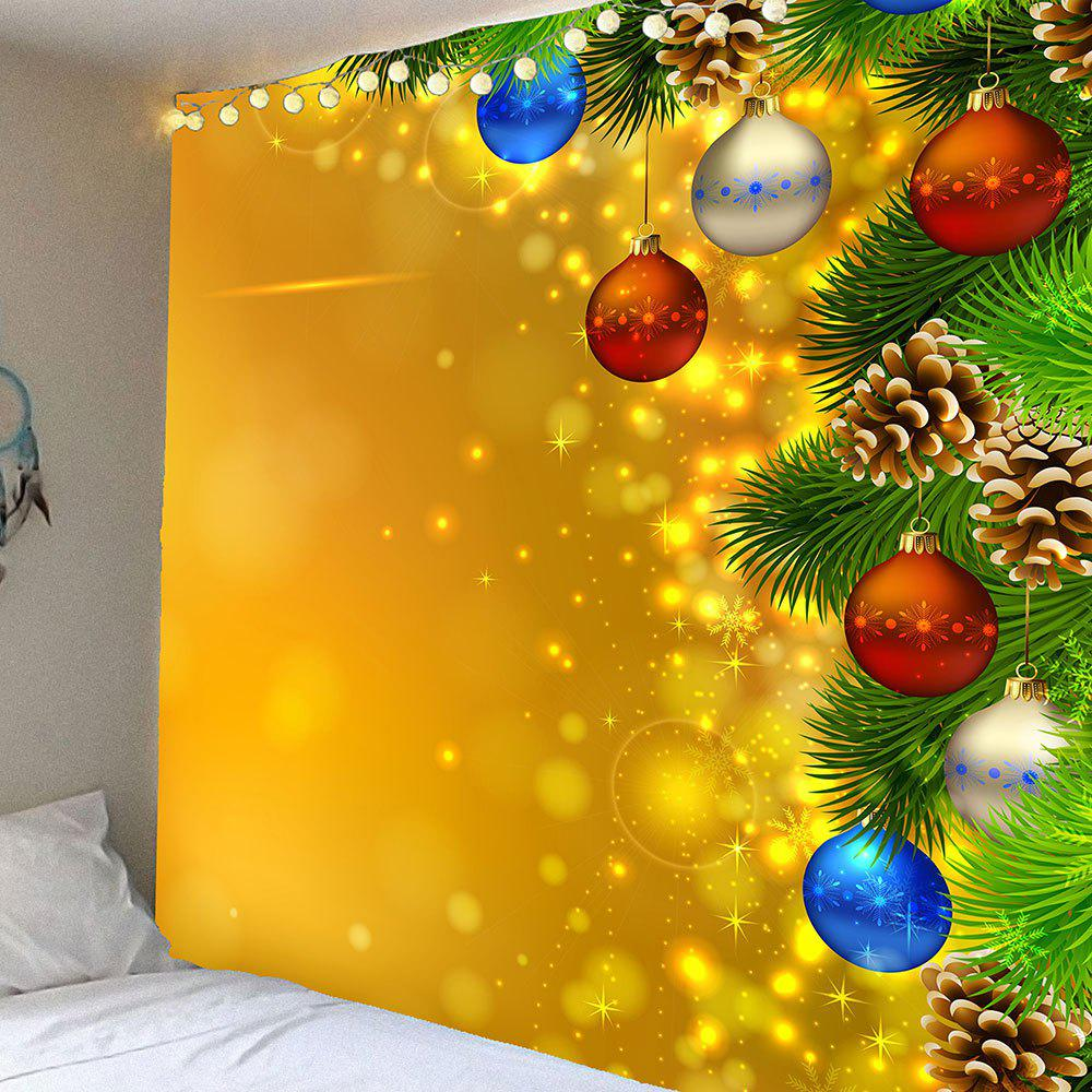 2018 Waterproof Christmas Light Pattern Wall Hanging Tapestry ...