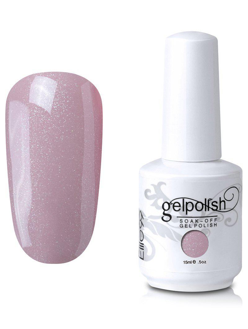 15ml Elite99 Soak-Off UV LED Gel Polonais Nail Art Glitter Clear -