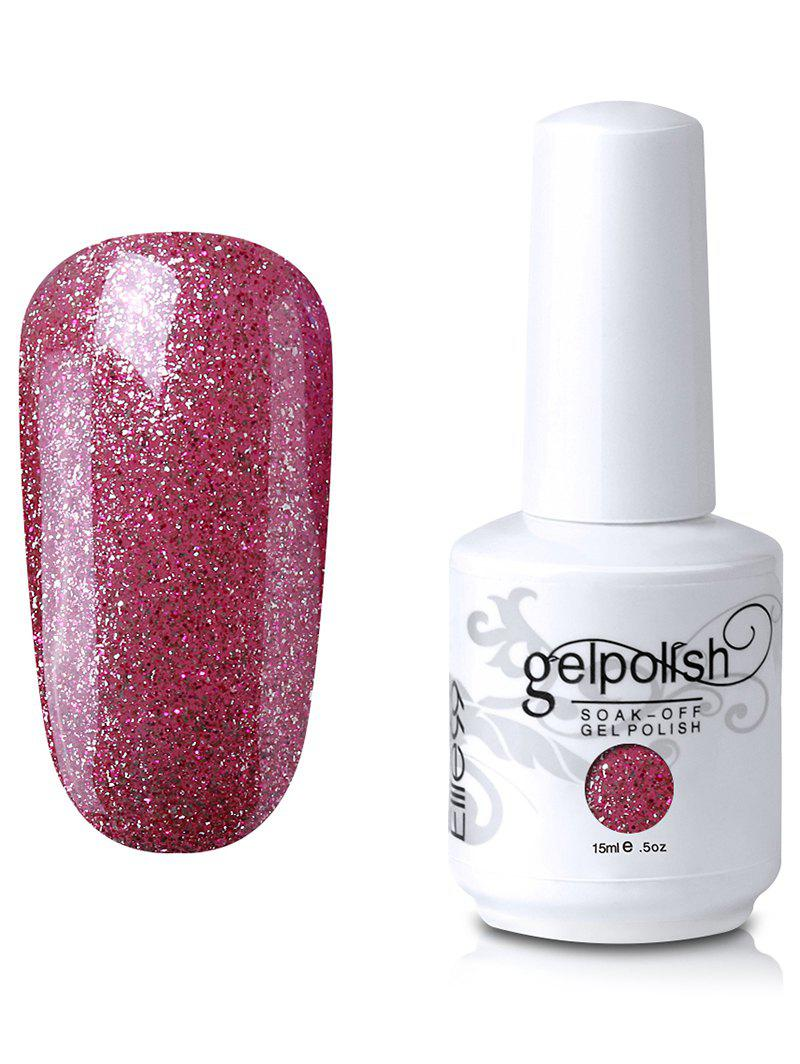15ml Elite99 Soak Off UV LED Multicolore Gel Polish Nail Art Glitter Clear -