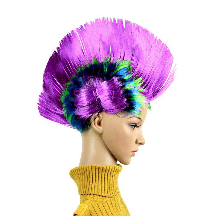 Halloween Christmas Carnival Decoration Mohawk Synthetic Party Wig