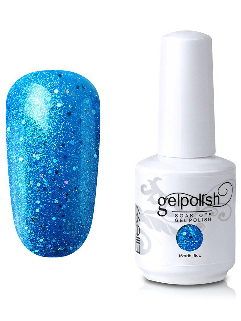 15 ml Elite99 UV LED Vernis à Ongle Gel à Tremper avec Paillettes -