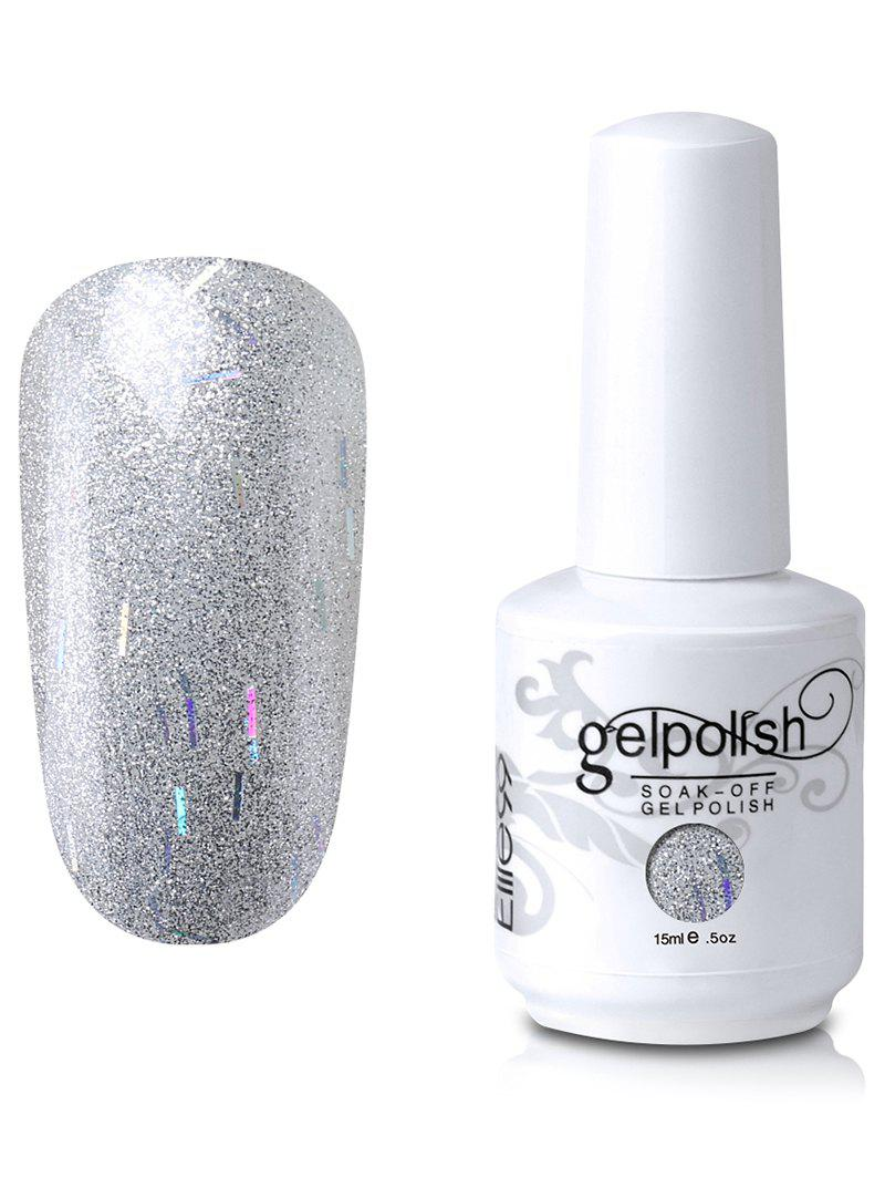 Elite99 Vernis à Ongle Gel UV LED à Tremper Brillant - Argent