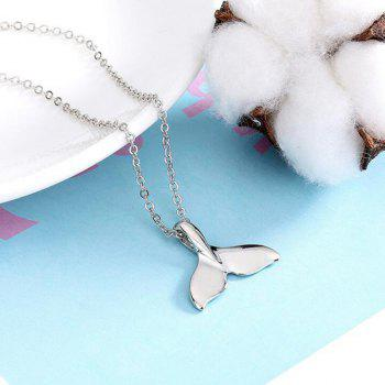 Charm Necklace with Fishtail Pendant