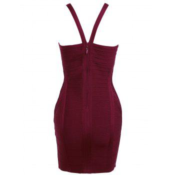Cami Strap Night Out Bandage Dress - S S