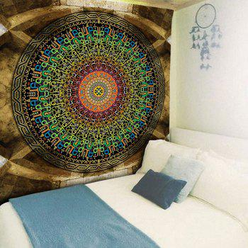 Ethnic Graphic Bedroom Wall Decor Tapestry - COLORMIX W79 INCH * L59 INCH
