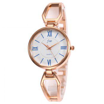 Roman Numerals Alloy Watch - ROSE GOLD ROSE GOLD