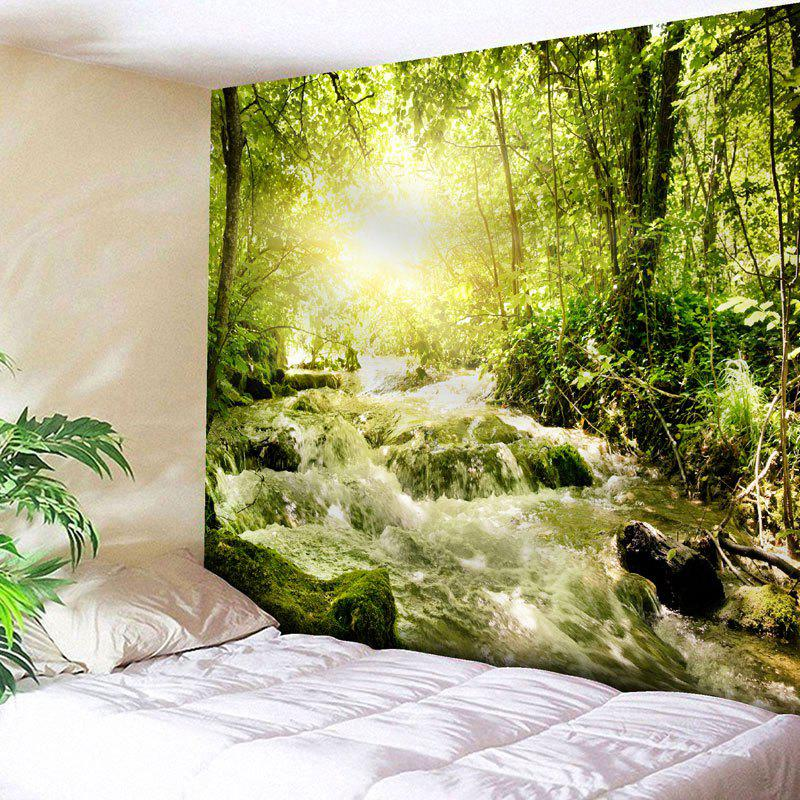 Wall Hanging Forest Stream Printed Tapestry outer space printed wall hanging tapestry