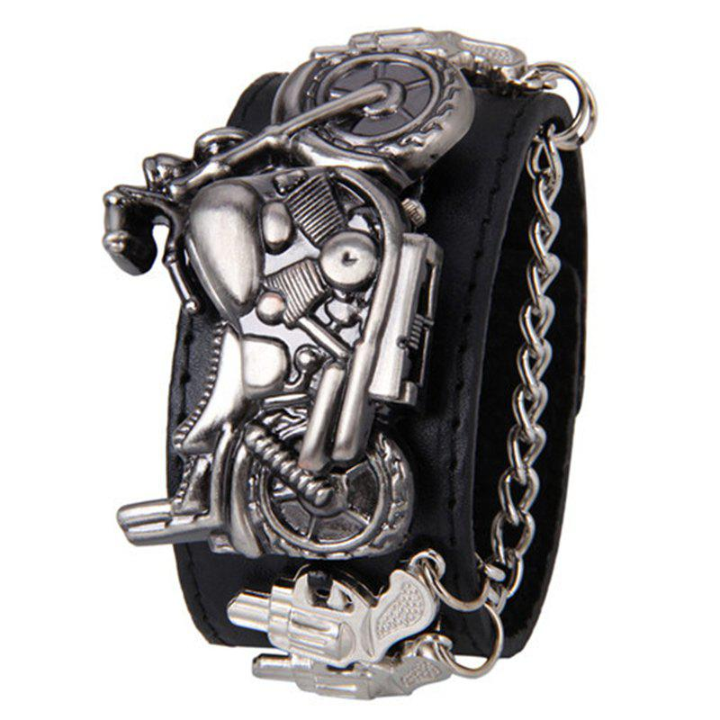 Gothic Style Motorcycle Number Watch gothic studded bra