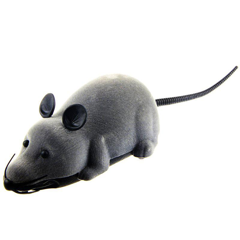 Wireless Electronic Remote Control Mouse Toy - GRAY