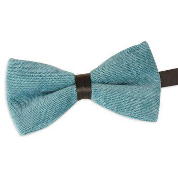 Corduroy Multicolor Bow Tie - LAKE GREEN LAKE GREEN