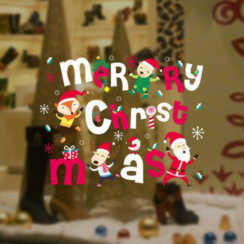Merry Christmas Wall Art Stickers - COLORMIX