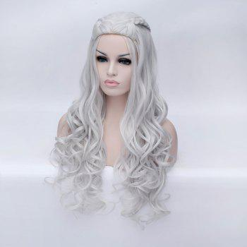 Braided Wavy Long Synthetic Game of Thrones Daenerys ...