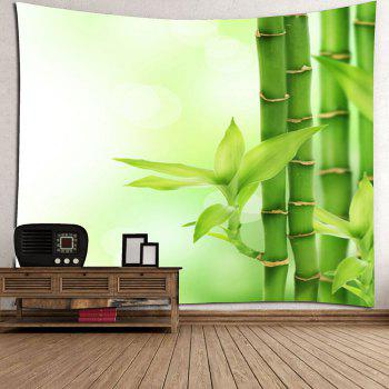 Bamboo Grove Home Decor Hanging Wall Tapestry - Vert W91 INCH * L71 INCH
