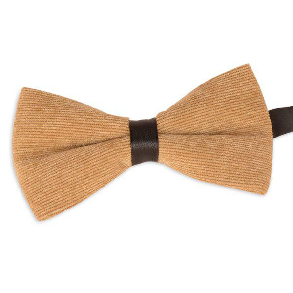 Corduroy Multicolor Bow Tie - EARTHY