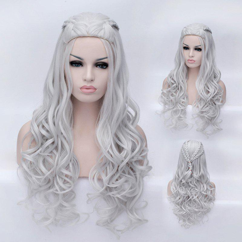 2018 Braided Wavy Long Synthetic Game of Thrones Daenerys ...