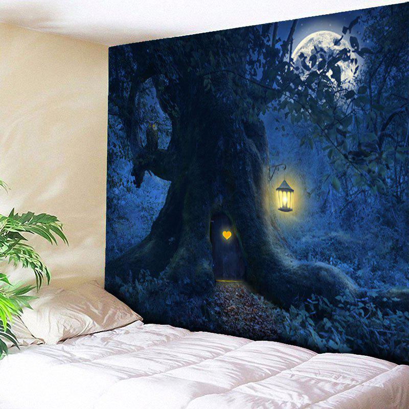 Halloween Tree Owl Wall Decor Tapestry the halloween tree