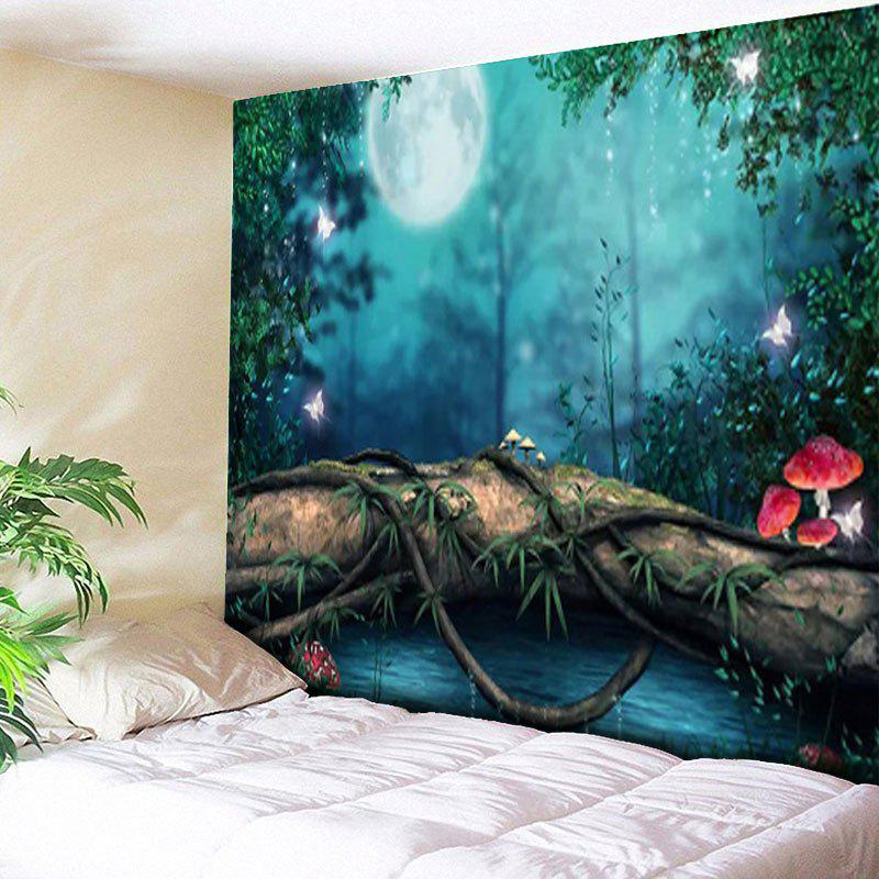 Forest Wonderland Print Wall Hanging Tapestry цена и фото