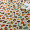 Oilproof Cartoon Owl Printed Table Cloth - COLORFUL W55 INCH * L55 INCH