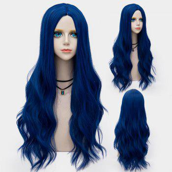 Long Center Parting Layered Wavy Synthetic Party Wig - ROYAL ROYAL