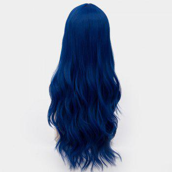 Long Center Parting Layered Wavy Synthetic Party Wig -  ROYAL
