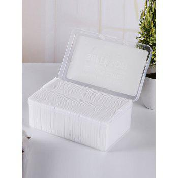 150PCS Thick Section Multiuse Makeup Cottons - WHITE